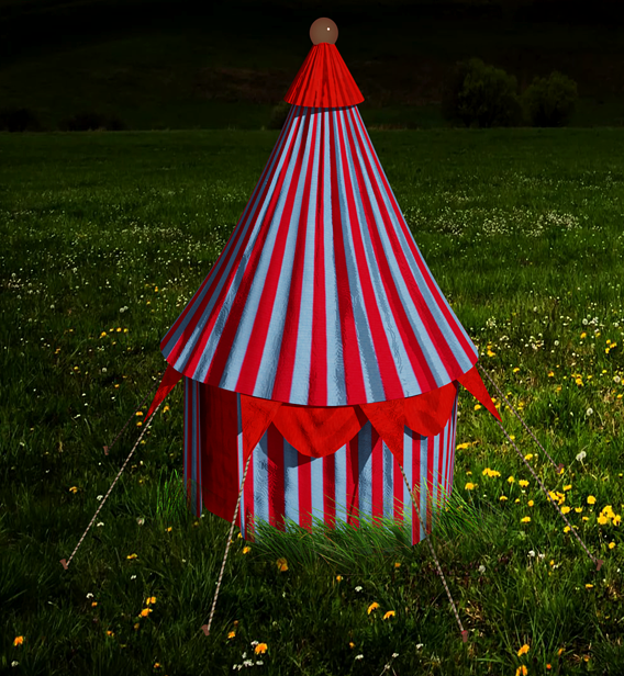 Circus tent little