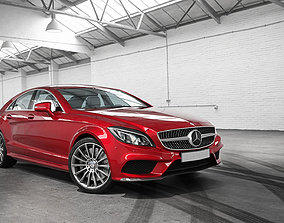 Mercedes Benz CLS 500 HD Model Car