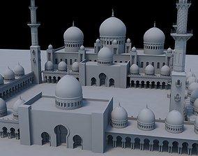 Sheikh Zayed Grand Mosque 3D model