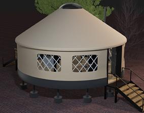 3D Modern Yurt