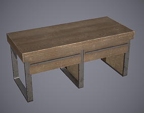 3D asset Crafting Table