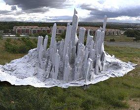 Manhattan in ruins partial 3D model