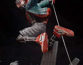 3D print model SPIDERMAN INTO THE SPIDERVERS MILES MORALES