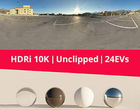 HDRi - Parking and Sky 3D outdoor