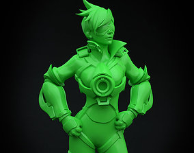 3D printable model Tracer - Overwatch cooling