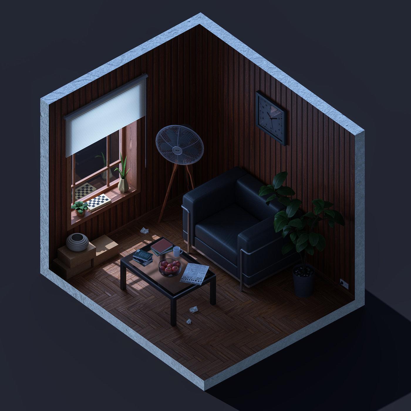 Comfort in the attic