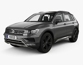 Volkswagen Tiguan Off-road with HQ interior 2015 3D