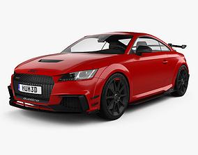 3D model Audi TT RS coupe Performance Parts 2017