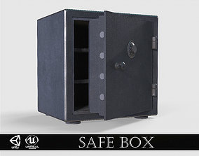 Small Safe Box Locker 3D asset