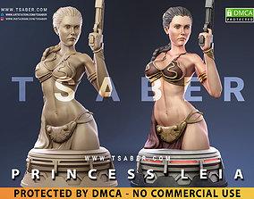 Princess Leia Bust - Star Wars Collectibles 3D print model