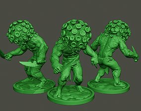 3D print model Humanoid virus 0009