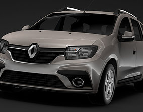 Renault Logan MCV 2020 3D model