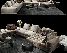 Minotti Lawrence Clan Set 3D