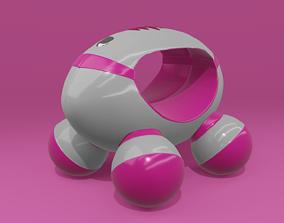 3D model Electronic manual massager