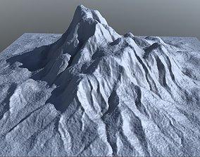 Mount Gritty 3D model