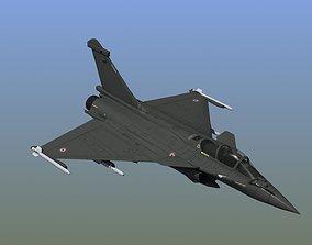 3D model Rafale C Military Aircraft