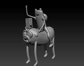 FIN AND JAKE ADVENTURE TIME 3D printable model
