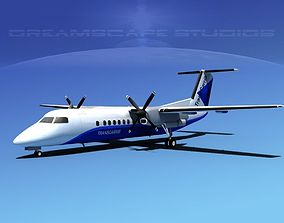 DeHavilland DHC-8-Q300 Trans Carribean 3D