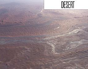nature ground 3D model Desert