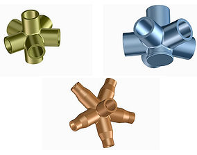 Innovative Pipe Fittings 3D
