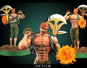 3D print model Escanor