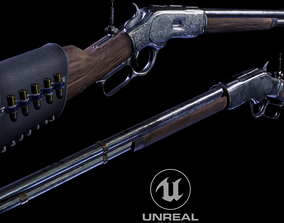 3D model realtime WINCHESTER 1873