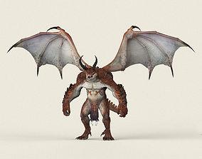 3D model Game Ready Dragon Monster