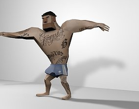 Lowpoly Character 3D asset game-ready