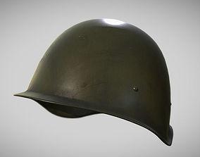 3D asset PBR Soviet Word War Helmet