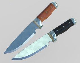 3D asset Polished Knife PBR