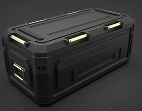 Sci-fi Military Container 3D