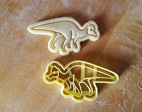 3D printable model Dinosaur cookie cutter