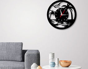 Decorative Wall Clock C3 3D printable model