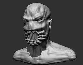 3D printable model Monster Bust 2