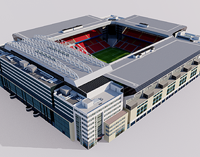 Parken Stadium - Copenhagen Denmark 3D