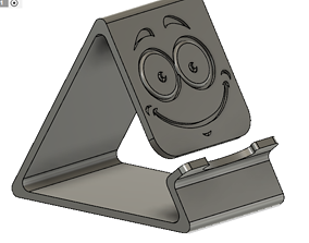 Phone holder pencil case 3D printable model