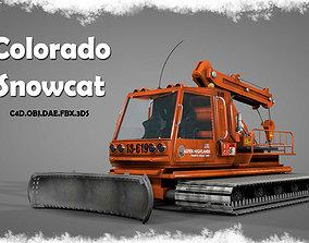 snowy 3D Colorado Snowcat