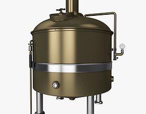 Brewery Tank 3D model