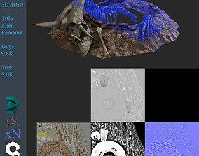 3D model Alien Remains
