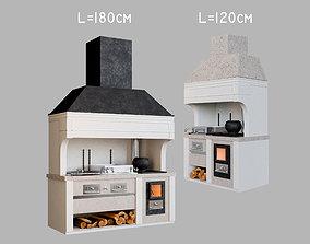 3D model Barbecue BBQ