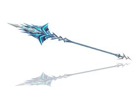 3D model Lightning Spear