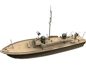 USA fleet demora assault ship 3D asset