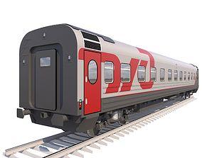 3D model Coach Passenger Wagon Standart