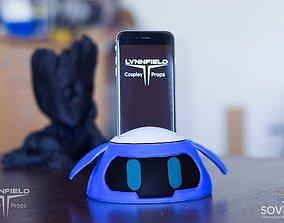 3D print model Mei s Snowball Overwatch phonedock 1
