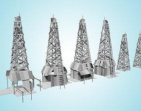 3D model Oil Field A