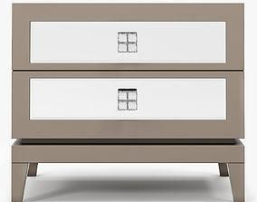 furniture 3D model Hyde House Bespoke Designs Nightstand