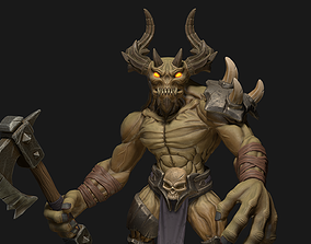 Big Daemon - Game Ready 3D asset