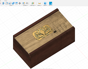 3D printable model MYSTERY PUZZLE BOX