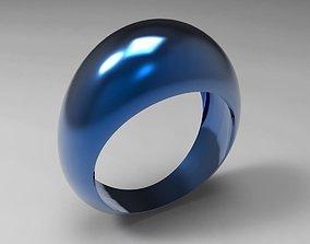 3D print model Blue Anodized Aluminum Ring