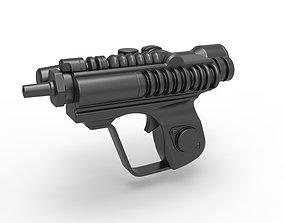 Scout trooper blaster pistol EC-17 3D